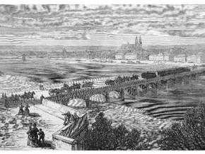 La vie à Tours sous l'occupation de 1871