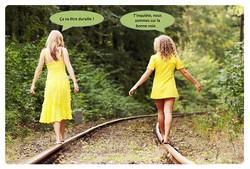 La marche à bon train