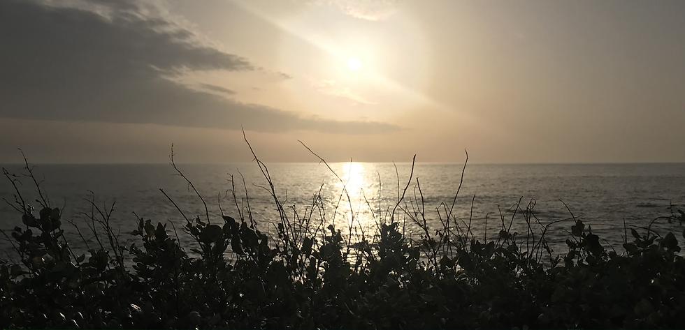 coucher de soleil aux sables d'olonne.he