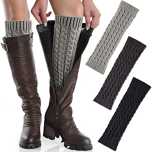 Leg warmers - cable