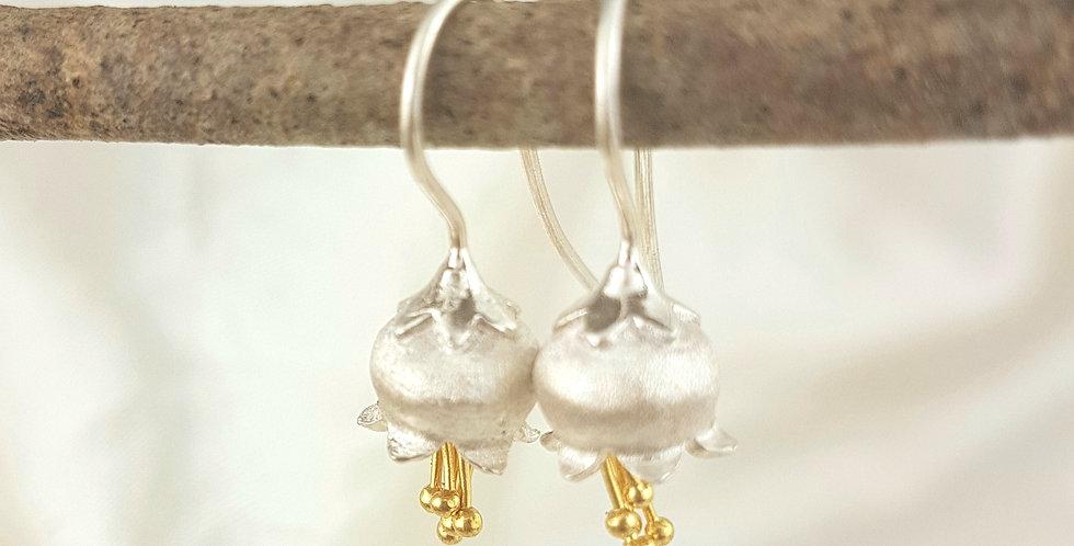 Sterling silver bluebells earrings