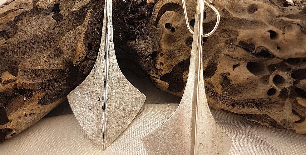 Sterling silver Artemis earrings