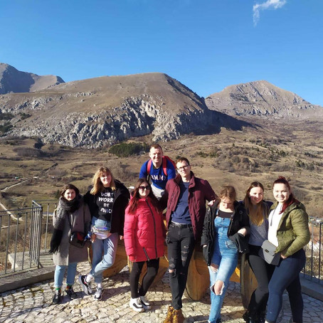 """""""Practice+"""" in Abruzzo, Italy for the students from Elektrenai Vocational Training Centre"""