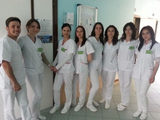 30 young Romanian nurses in Avezzano for a European Project