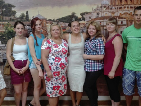 "8 Lithuanian Graduate in Celano for the Erasmus+ Project ""CAREER PATH"""