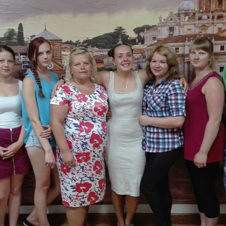 """8 Lithuanian Graduate in Celano for the Erasmus+ Project """"CAREER PATH"""""""