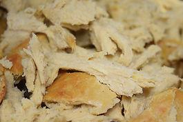 Pulled Seitan nach der Chickwheat Methode