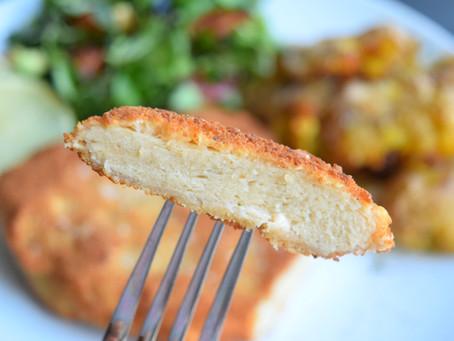 Schnitzel mit knusprigen Ofen-Kartoffeln