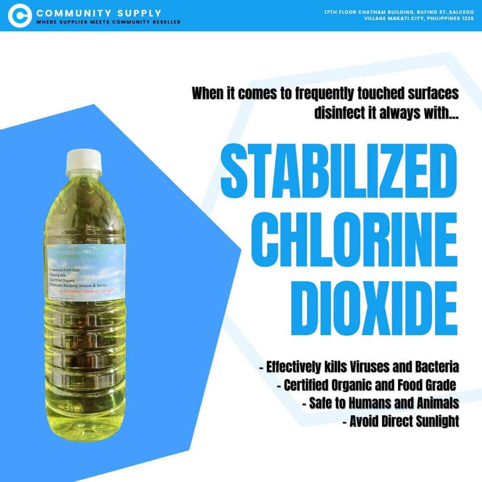 Stabilized Chlorine DIoxide