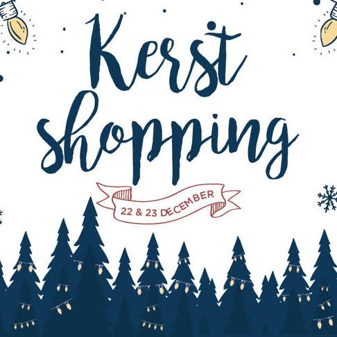 Kerstshopping in Halle