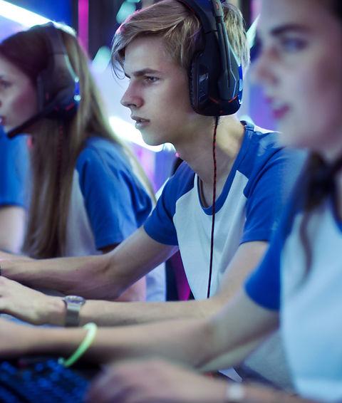 Professional eSport Gamers