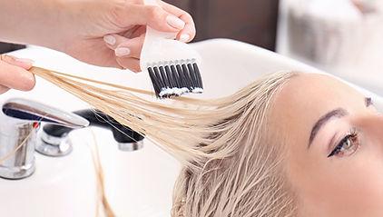 Farbbehandlungen Haare färben Friseur Tanja W. Wentorf