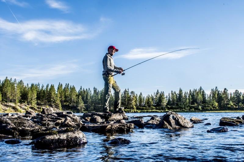 Fiske i Femundsmarka