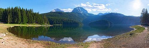 Черногория. Чёрное озеро Дурмитора.