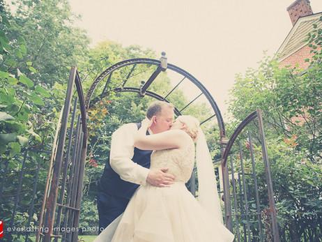 Brook & Erin's wedding photos at Stone Mill Inn