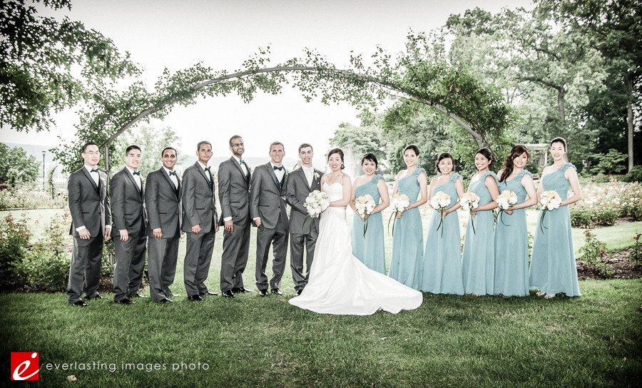 bridesmaids bride Hershey Gardens Wedding weddings photography photographer pictures outdoor pics