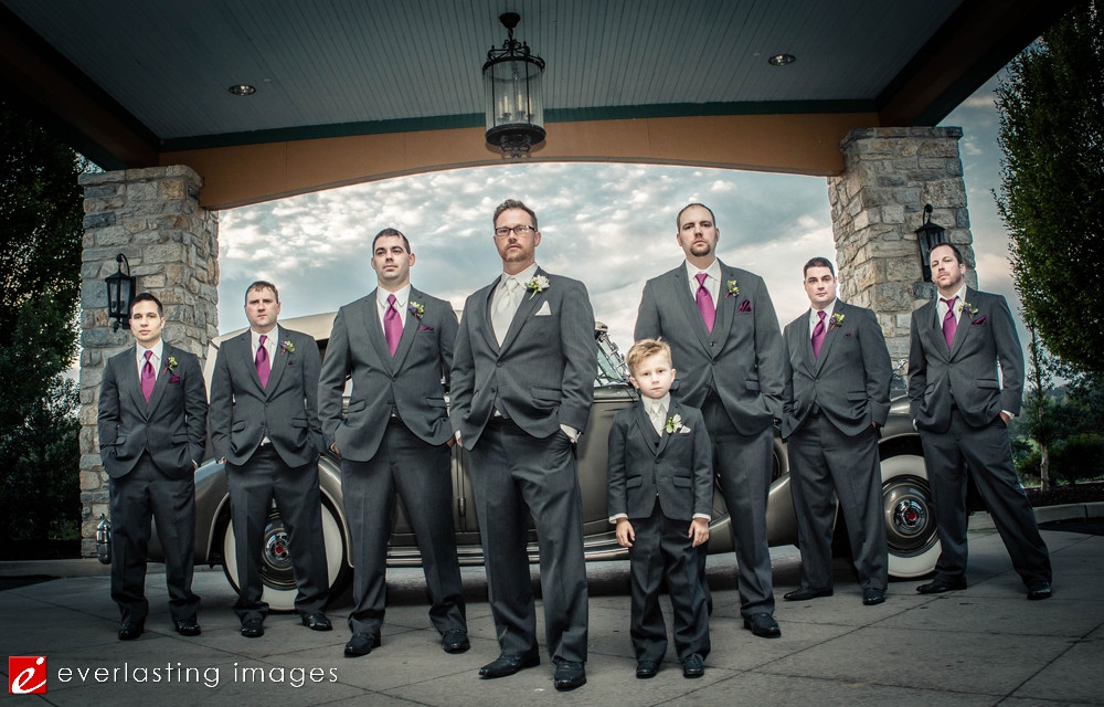 Family suits black cool Hershey Country Club Weddings Photographer pic pictures