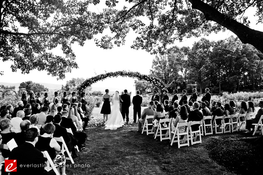 black and white b and w Hershey Gardens Wedding weddings photography photographer pictures outdoor pics