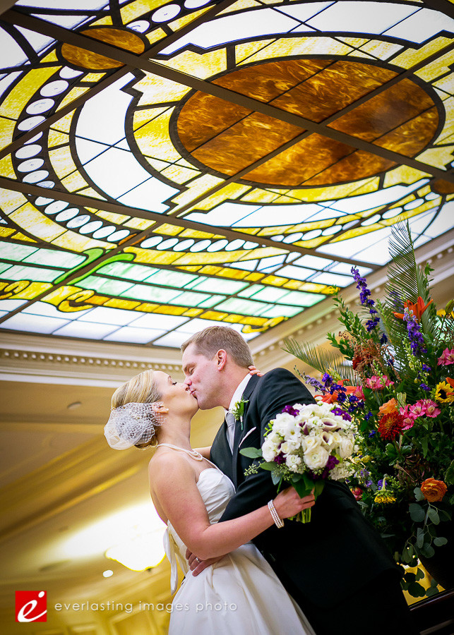 Kiss Kissing Hotel Hershey Wedding Photographer photography