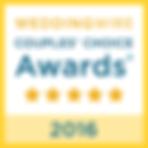 WeddingWire Couple's Choice 2016 Award Everlasting Images