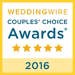 WeddingWire Couple's Choice 2016 Award Everlasting Images