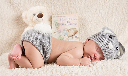 Newborn portraits Hershey Babies