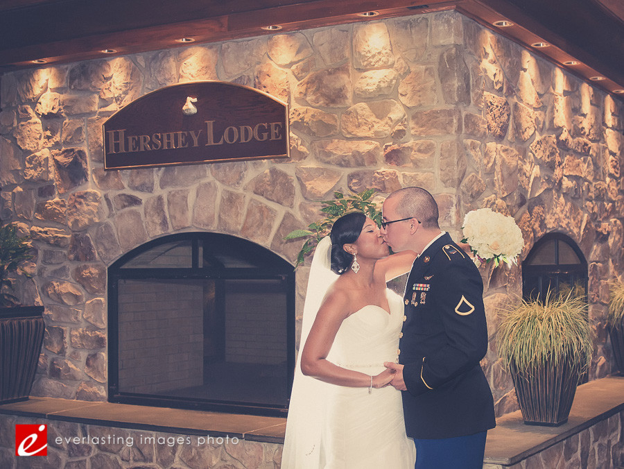 kiss military Hershey Lodge wedding weddings photographer photography picture pics