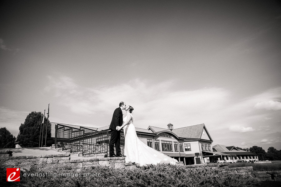 Kiss black and white b and w b&w Hershey Country Club Weddings Photographer pic pictures