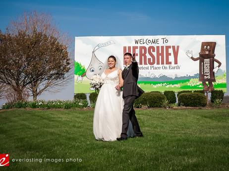 Iconic Hershey Wedding Photos