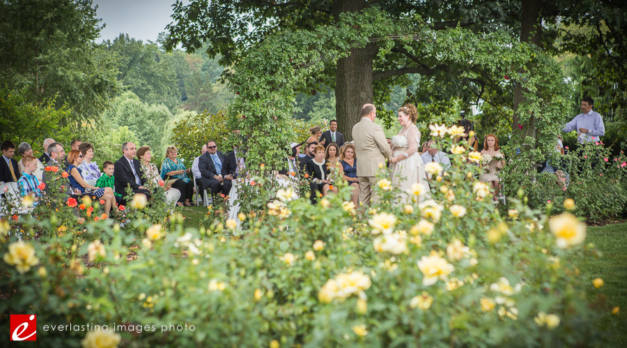 ceremony attendance Hershey Gardens Wedding weddings photography photographer pictures outdoor pics