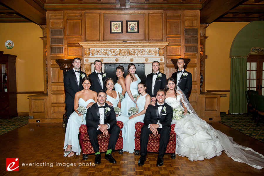 Group Picture Hotel Hershey Wedding Photographer photography