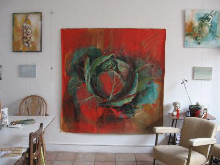 Mon atelier en 2007