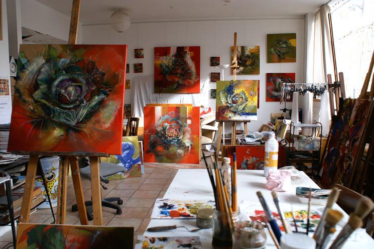 Mon atelier en 2011