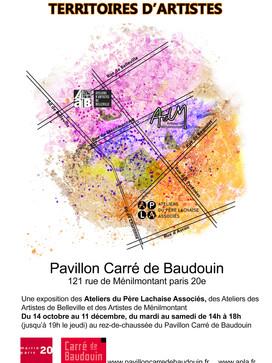 Exposition au carré de Baudouin, Paris 20