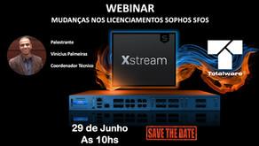 Webinar - Novos licenciamentos do Sophos XG/XGS