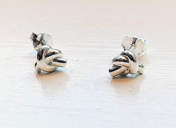 Mini Knot Earrings