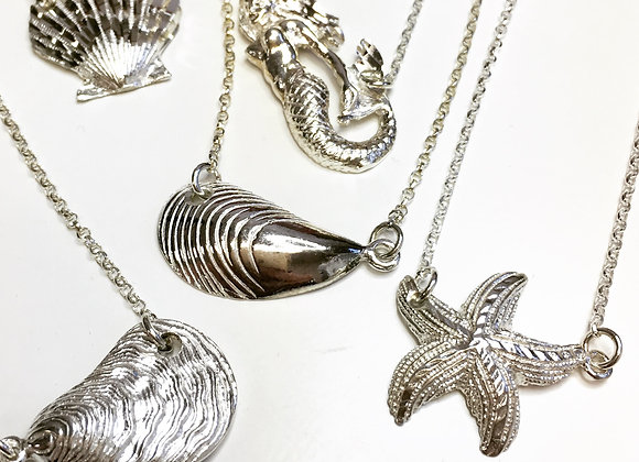 Sterling Silver Nautical Necklaces