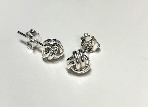 Knot Stud Earring
