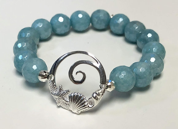 Beach Gemstone Bracelet