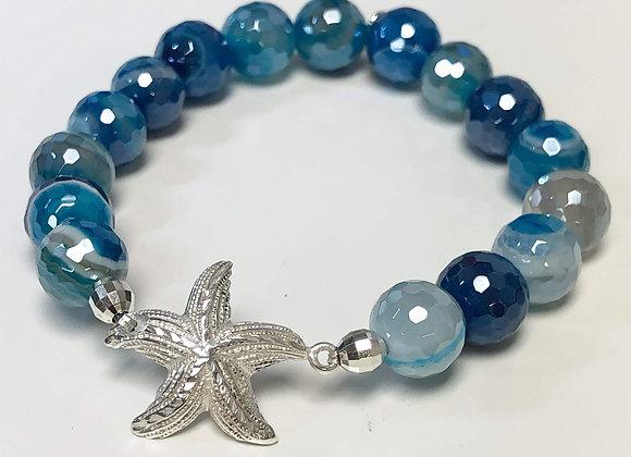 Starfish Gemstone Bracelets