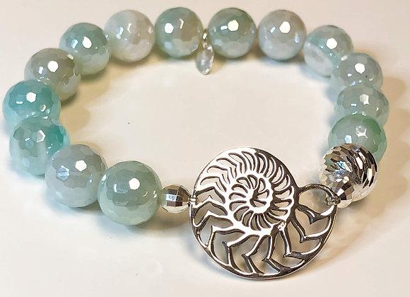 Nautilus Gemstone Bracelet