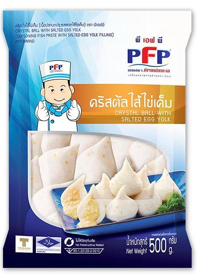 PFP พีเอฟพี คริสตัลไส้ไข่เค็ม 500 กรัม