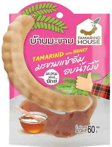 Tamarind House บ้านมะขาม มะขามแช่อิ่มอบน้ำผึ้ง 60 กรัม