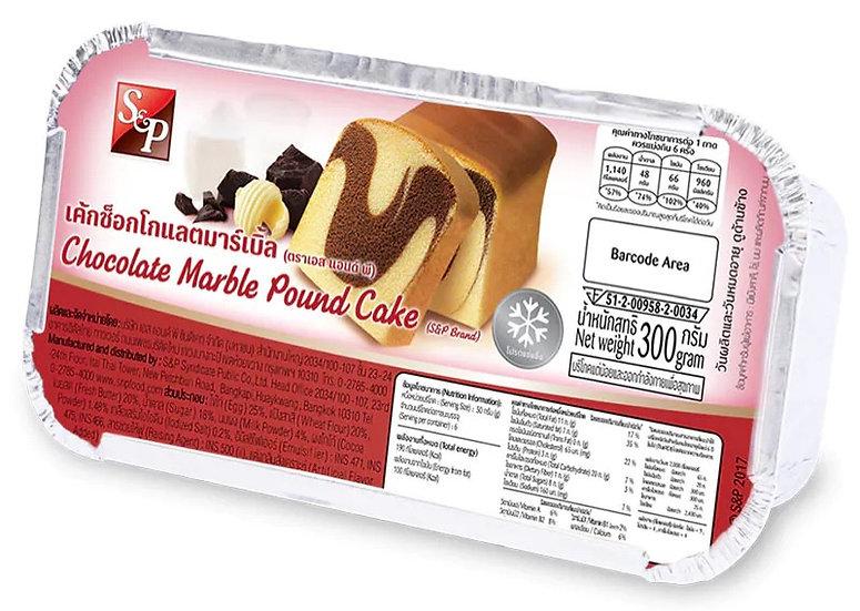 S&P เค้กช็อกมาร์เบิ้ล 300 กรัม