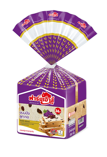Farmhouse Raisin Bread 250 grams.