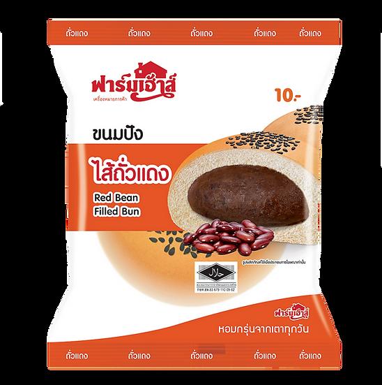 Farmhouse Red Bean Filled Bun 80 g.