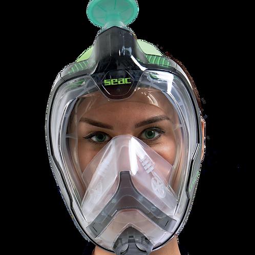 Seac Sub Libera Mask - Silicone Strap - L/XL
