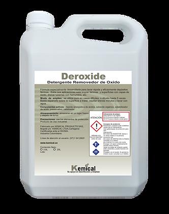 Deroxide - Detergente removedor de óxido