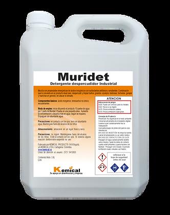 MURIDET - Detergente Despercudidor Industrial Acido