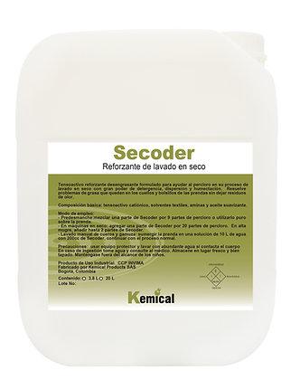 SECODER - Detergente Reforzante para Lavado en Seco